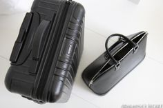 Travelling essentials: Rimowa luggage and Louis Vuitton Alma - Adalmina's Secret