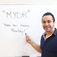 Happy #Monday #Everyone! Today's #MondayMotivation is something that you all should know and live by, but Franco wanted to take this #opportunity to remind you. We all have dreams, and without dreams what are we really working towards? So #ClickSEOMarketing says #MYDR - and don't stop until you do. #SEO #marketing #internetmarketing #strategy #growth #growing