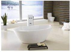 Salvatore Free Standing Bath 1805 x 920 x 675mm - $1 280.00
