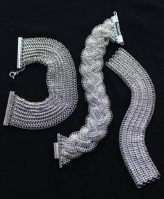 European chainmaille For more chainmaille jewelry and tutorials visit http://www.craftycristian.com/my-chainmaille/