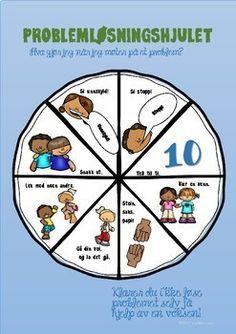 Sosiale ferdigheter - Problemløsningshjulet by LaerMedLyngmo   Teachers Pay Teachers