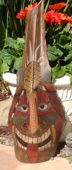 palm frond masks - Google Search