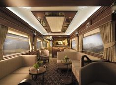 The Belmond Grand Hibernian Luxury Train will launch in Ireland this September. The £2.5million Grand Hibernian is the latest sleeper train, which includes services like the iconic Orient Express and the British Pullman. Prices per person start at €3,160 ($3,531) for a two-night journey on the luxury sleeper train. About £2.5 million ($3.3 million) was spent on refurbishing the train, which will offer its guests live entertainment and specially-prepared meals.