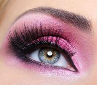 Abend Make-up Pink