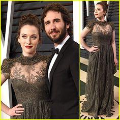 Kat Dennings & Josh Groban Hit First Vanity Fair Oscar Party Together