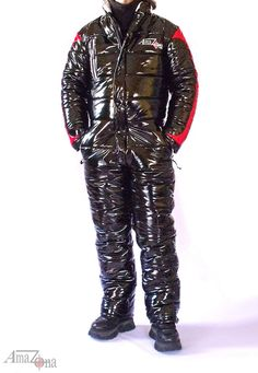 Noorvik vinyl down suit image 1 Snowboard, Mens Ski Pants, Double Sens, Down Suit, Winter Suit, Vinyl, Mens Suits, Mantel, Overalls