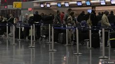 Passengers at JFK airport. New York's JFK airport to start Ebola checks. New York's JFK airport is to start screening to try to stem the Ebola outbreak that has killed more than 4,000 people. Passengers from Liberia, Sierra Leone and Guinea - the worst-hit countries - will have their temperatures taken and have to answer a series of questions. Checks at O'Hare in Chicago, Newark, Washington's Dulles and Atlanta's airport will begin in the coming days. #ebola #EbolaChecks #NewYork #NYC #JFK