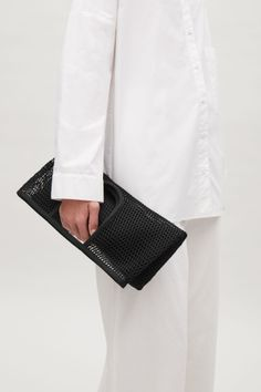 COS image 2 of Mesh market bag in Black