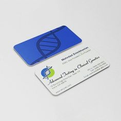 Business card and logo designed for Advanced Testing Clinical Genetics. #businesscard #businesscardsdesign #businesscards #graphicdesigner #graphicdesign #logo #logodesign #print #currydesign