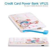 Ultra Credit Card Power Bank Keep Your Life with Convenience