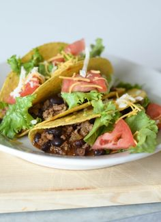 Slow Cooker Taco Mea
