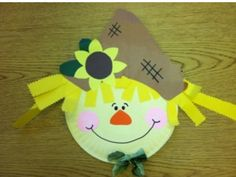 Paper Plate Scarecrow Craft Kit | Scarecrow crafts Craft kits and Scarecrows & Paper Plate Scarecrow Craft Kit | Scarecrow crafts Craft kits and ...