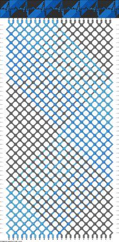 24 strings, 48 rows, 3 colors, heartbeat bracelet