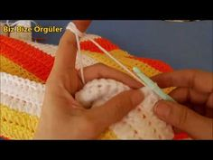 One Day Babydecke - Easy Blanket - gönül Crochet Blanket Patterns, Baby Knitting Patterns, Tag Youtube, Baby Cover, Free Baby Stuff, Baby Sweaters, Knitted Blankets, Crochet Projects, Easy