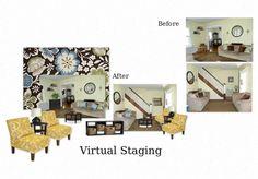 Virtual Home Staging.... making your home sale-able interior design, design wwwsuburbanrevivalcom