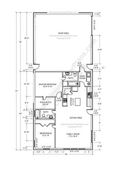 Barndominium Floor Plans Barndominium Floor Plans - Barn home plans blueprints