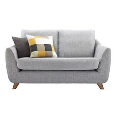 Buy G Plan Vintage The Sixty Seven Small Sofa, Marl Grey Online at johnlewis.com