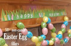 An AMAZING list of more than 50 non-candy Easter egg fillers | #BabyCenterBlog