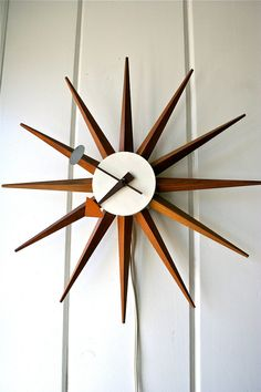George Nelson Vintage Spike Clock