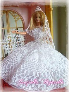112 Fantastiche Immagini Su Vestiti Per Le Bambole Alluncinetto Nel