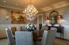 formal dining - traditional - dining room - other metro - Fowler Interiors