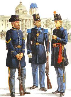American Uniform, American Civil War, American History, Military Art, Military History, Military Uniforms, Marine Officer, Soldier Costume, Civil War Art