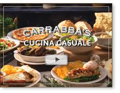 Carrabas- Favorite restaurant. I go there every year on my bday :) Chicken Marsala and Caesar Salad please!!!