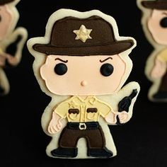 The Walking Dead Cookies, perfect for the walking dead party!