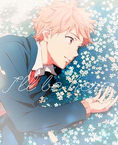 Akihito kanbara // beyond the boundary / kyoukai no kanata I Love Anime, Anime Guys, Katana, Anime Manga, Anime Art, Anime Demon, Otaku, Beyond The Boundary, Kyoto Animation