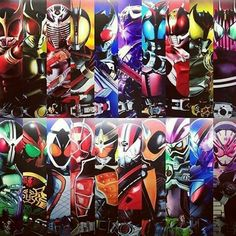 20th Heisei Kamen Rider Kamen Rider Gaim, Kamen Rider Series, Boboiboy Anime, Boboiboy Galaxy, Marvel Entertainment, Power Rangers, Raiders, Gundam, Chibi