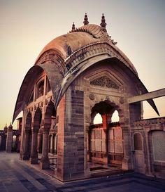 Indian Chhatri Hindu Architecture - Rajasthan, India