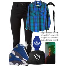 A fashion look from December 2014 featuring teal shirt, highwaist pants and retro shoes. Browse and shop related looks.