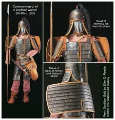 Scythian armor: Future reference material.