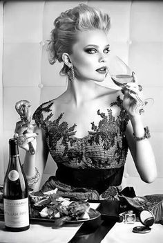 Classy wine