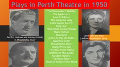 History of Perth Theatre in 1950