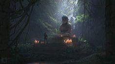 JamesCombridge_Jungle shrine interior.jpg