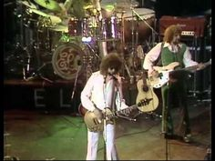 """ELO Live, Fusion: Live in London 1976 - Electric Light Orchestra (Full video) - 00:00 - """"Poker""""; 03:42 - """"Nightrider""""; 08:11 - """"Showdown""""; 13:05 - """"Eldorado Overture""""; 14:06 - """"Can't Get It Out Of My Head""""; 18:01 - """"Poorboy (The Greenwood)""""; 20:41 - """"Illusions in G Major""""; 23:42 - """"Strange Magic""""; 27:31 - """"10538 Overture""""/""""Do Ya""""; 32:31 - """"Evil Woman""""; 36:47 - """"Ma-Ma-Ma-Belle""""; 41:43 - """"Roll Over Beethoven"""""""