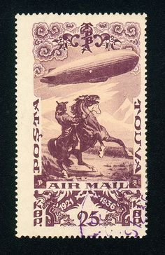 Per previous pinner: Down, Buck! What in god's name is that thing?! More about stamps: http://sammler.com/stamps/