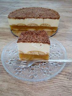 Szarlotka bez pieczenia No Bake Cake, Tiramisu, Cheesecake, Food And Drink, Bread, Baking, Fruit, Ethnic Recipes, Per Diem