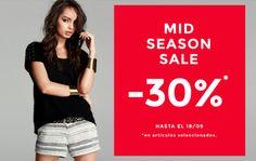 Un 30% de descuento con el Mid Season Sale en Stradivarius