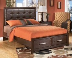 ASH-B165/QUEEN - Ashley Aleydis Queen Storage Bed | Mathis Brothers Furniture