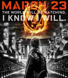 March 23 | The world will be watching. | I know I will. And it comes out on my birthday!!!! Happy Birthday to me!!!!!!!!!!!!!