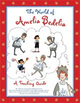 Explore the world of Amelia Bedelia with the resources in this printable teaching guide for grades K-3. It includes themes for discussion, character study ideas, book study ideas, language arts activities & curriculum connections. #kidlit