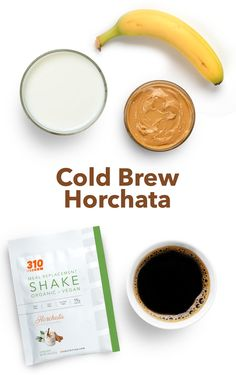 This gluten-free and vegan-friendly recipe is packed with 18g of protein and 15g can be prepared in minutes for the ultimate snack! Horchata, Meal Replacement Shakes, Calorie Counting, Cold Brew, Vegan Friendly, Healthy Fats, Yummy Drinks, Brewing, Protein