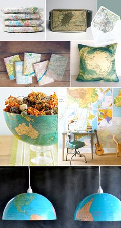 Maps and Globes!!