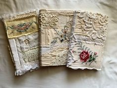 """Lorena on Instagram: """"3 new shabby chic journals I'm working on. They still need signatures but I've really enjoyed working on the covers because I Looovvvee…"""" Shabby Chic Journal, Creative Journal, Junk Journal, Be Still, Journals, Decorative Boxes, Cover, Mixed Media, Instagram"""