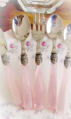 Flatware for Pink Posy Cottage