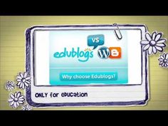 Why Edublogs?