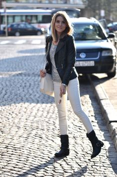 This jacket and these boots! <3