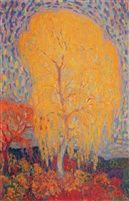 Leo Gestel, Tree in Autumn, 1910/11, oil on canvas